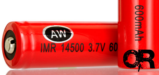 AW IMR 14500 Rechargeable Battery