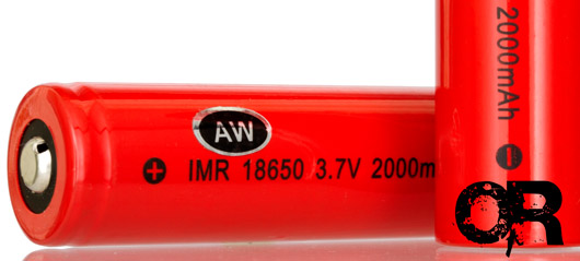 AW IMR 18650/2000 Rechargeable Battery