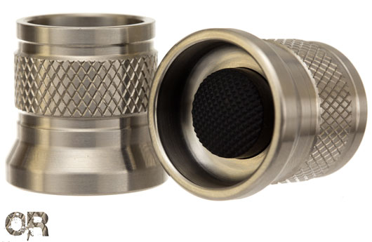 Custom Knurled E Shrouded TailCap