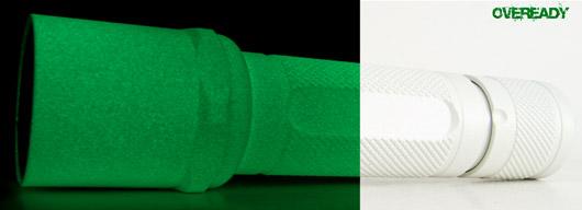 SureFire 6P - Bored Custom Ceramic - Glow White