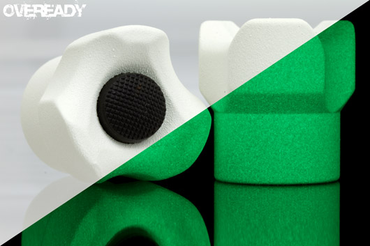 Moddoolar C Triad Tail - Custom Ceramic - Glow White