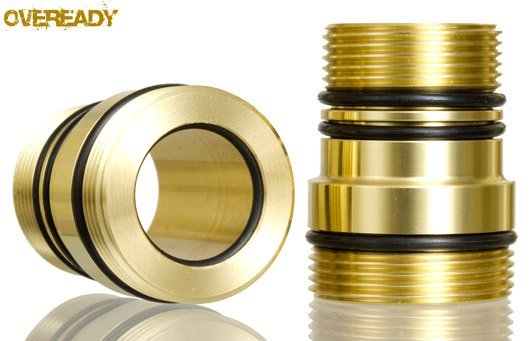Moddoolar Shorty Cell Tube (20mm+ZRS) - Brass