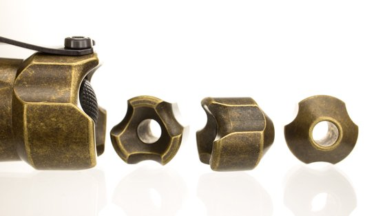BOSS Lanyard Bead - Vintage Brass