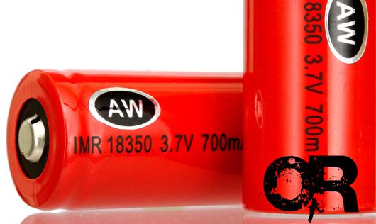 AW 18350 Lithium Manganese (IMR)