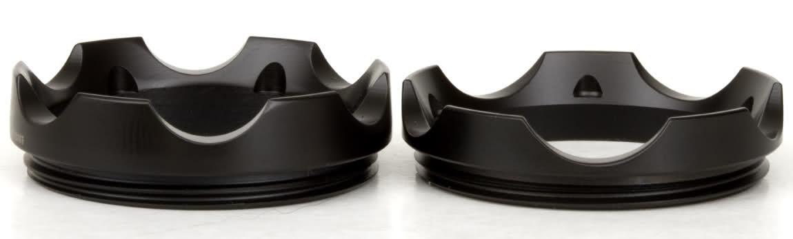 Insider #24 5 point Z44 bezel rings, BBQ Black Surefire