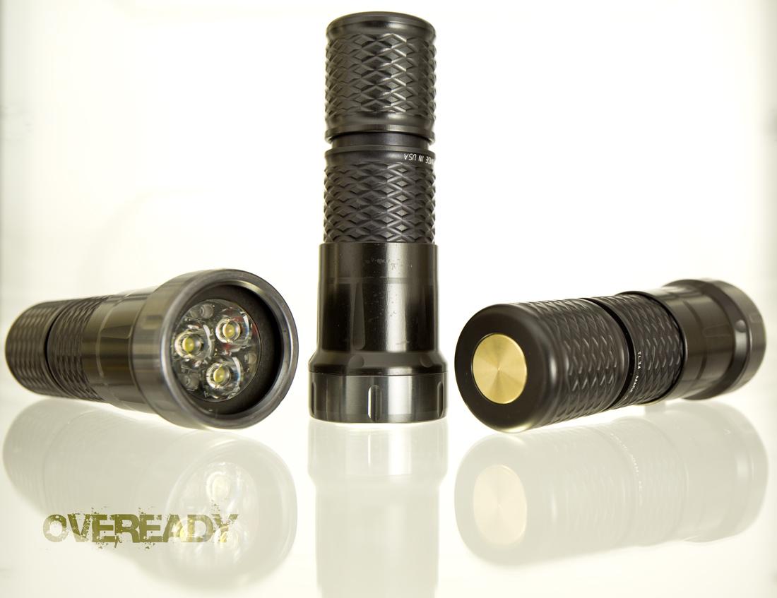 Insider #49 Oblivion  Flashlight, Custom Elzetta Bravo and Charlie, Xtar VP2, Black Clips and Screws